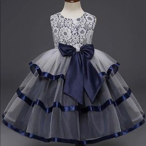 Other - New! Lace Satin Tutu Party Pageant Dress - 5/6